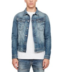 g-star raw men's arc 3d slim-fit stretch denim jacket, created for macy's