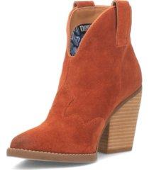 women's flannie leather bootie women's shoes