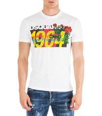 dsquared2 short sleeve t-shirt crew neckline jumper