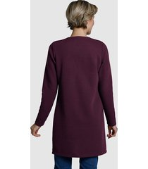 sweatshirtjacka dress in ljung