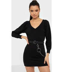 ivyrevel off shoulder sweater dress fodralklänningar