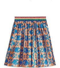 gucci jacquard skirt