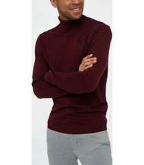 selected homme slhtower cot/silk roll neck b tröjor port royale