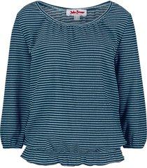 maglia in crêpe elasticizzato (blu) - john baner jeanswear