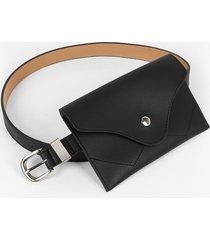 pin buckle fanny pack waist belt bag