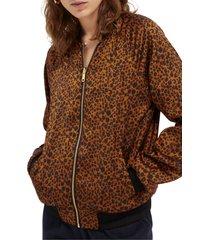 women's scotch & soda in-between reversible bomber jacket, size x-small - blue