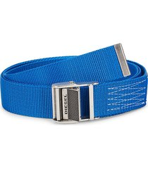 diesel men's b-onavigo belt - royal blue