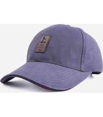 gorra golf ajustable # 2 - color gris logo marron