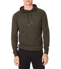 good man brand legend slim fit pullover hoodie, size xx-large in riffle green at nordstrom