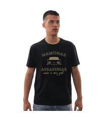 camiseta mamonas assassinas brasília amarela preta preto