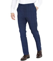 dkny men's modern-fit stretch suit pants