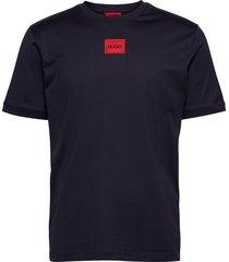 diragolino t-shirts short-sleeved blå hugo