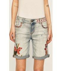 desigual - szorty jeansowe