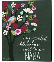 nana by katie doucette canvas art