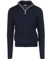 dark blue favonio vintage pullover
