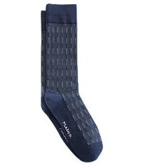jos. a. bank stripe mid-calf socks, 1-pair