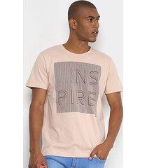 camiseta forum inspire masculina
