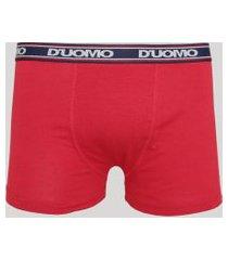 cueca masculina duomo boxer vermelha