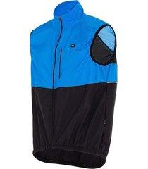 colete corta vento gpx sports ciclismo márcio may pro azul