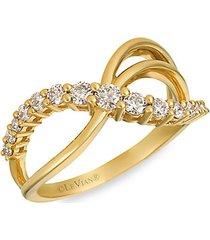 14k honey gold™ & nude diamond ring