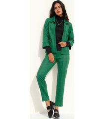 imitatieleren broek amy vermont groen