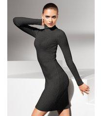 vestiti merino rib dress - 8763 - m