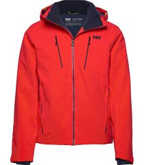 alpha 3.0 jacket outerwear sport jackets röd helly hansen