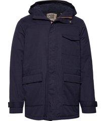 akmack jacket parka jas blauw anerkjendt