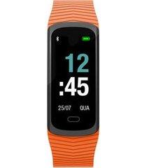 relógio mormaii fit gps unissex laranja mob3ac/8l mob3ac/8l