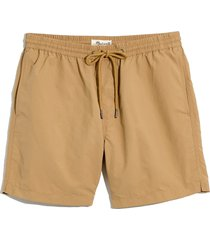 madewell everywear shorts, size x-large in autumn meadow at nordstrom