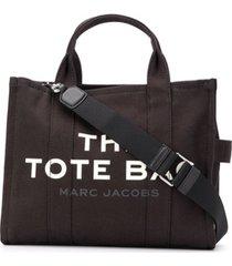 marc jacobs bolsa tote the small traveler - preto