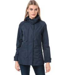 womens iconic long consort oxford jacket