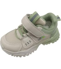 zapatillas velcro verde vinnys outlet
