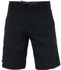 bermuda oakley iridium zone hybrid shorts masculina - masculino