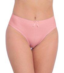 calcinha vip lingerie tangão algodão cintura alta laranja
