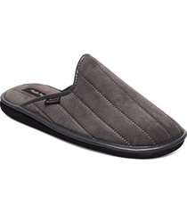 boston canale slippers tofflor grå hush puppies
