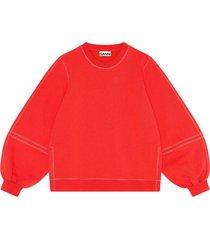 software isoli sweatshirt in flame scarlet