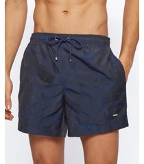 boss men's jacquard swim shorts