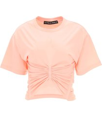 y/project draped cotton t-shirt