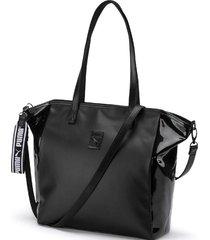 bolso negro puma prime premium shopper