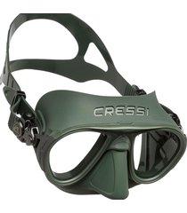 máscara de mergulho cressi calibro verde