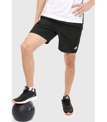 pantaloneta negro-blanco adidas originals shorts 4krft