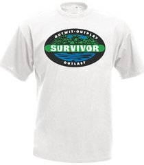 survivor tv series men's t-shirt tee many colors
