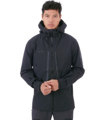 chaqueta masao hs hooded negro mammut