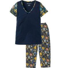 pigiama con pinocchietto e maglia a manica corta (blu) - bpc selection
