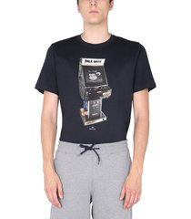 ps by paul smith crew neck t-shirt with logo