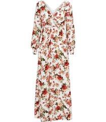 maxiklänning vimitty l/s maxi dress