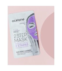 amaro feminino oceane máscara facial 2 etapas - dual-step mask, aloe vera