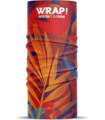 bandana multifuncional reciclada la sabana wild wrap
