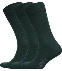 true ankle sock 3-pack underwear socks regular socks grön amanda christensen
